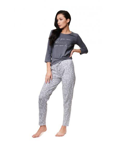 Piżama Henderson Ladies 39218 Zaylee 3/4 S-2XL