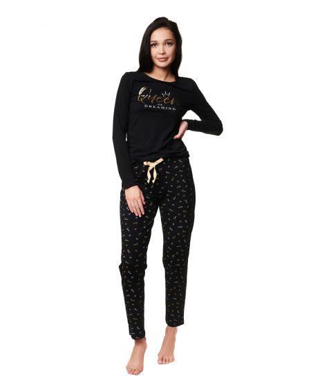 Piżama Henderson Ladies 39223 Zazzy dł/r S-2XL