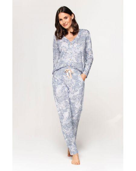 Piżama Cana 575 dł/r S-XL