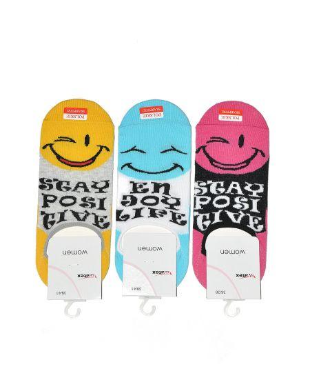 Bratex Emoticons Füße für Frauen 9858