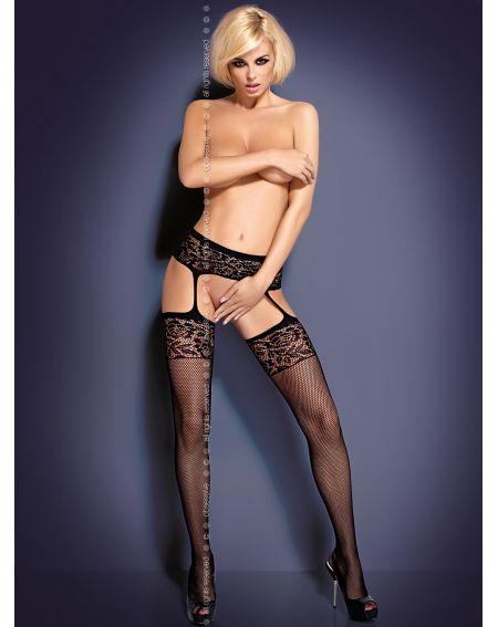 Pończochy Obsessive Garter Stockings S500