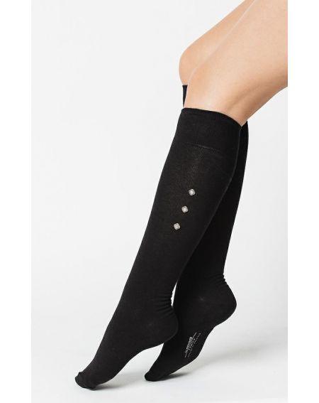 Knee socks Steven art.066 Comet women 35-40