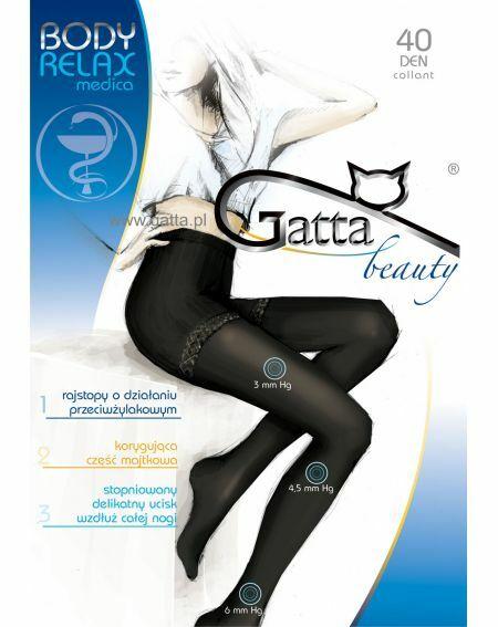 Collant Gatta Body Relax Medica 40 den 2-4