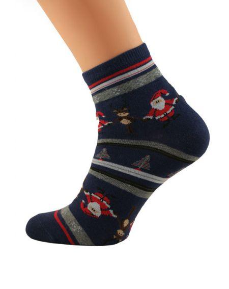 Bratex 2988 X-Mass Socks women 36-41