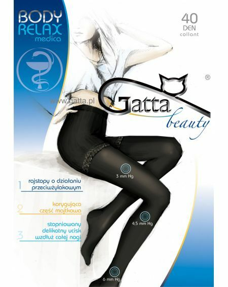 Collant Gatta Body Relax Medica 40 den 5-XL