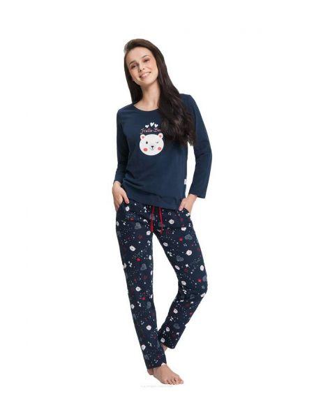 Pajamas Luna 680 length / y S-2XL