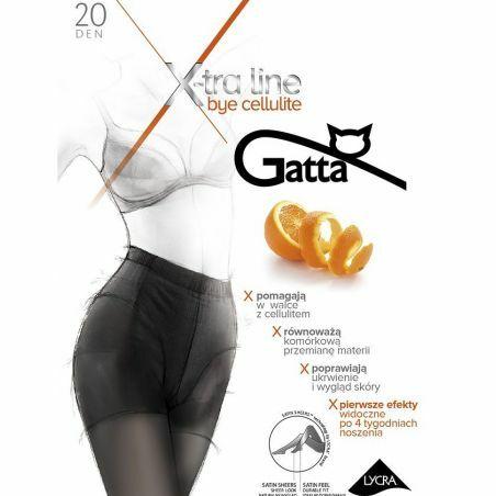 Rajstopy Gatta Bye Cellulite 20 den 2-4