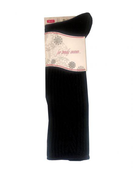 Knee highs Bratex D-014 For Trendy Women 38-41
