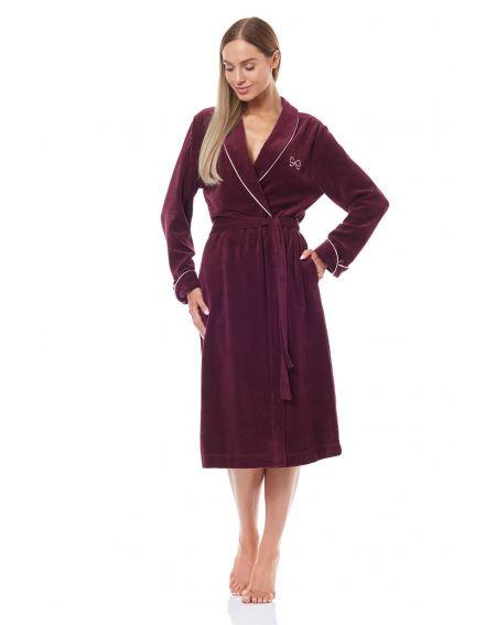 L&L 9142 KKR long bathrobe for women