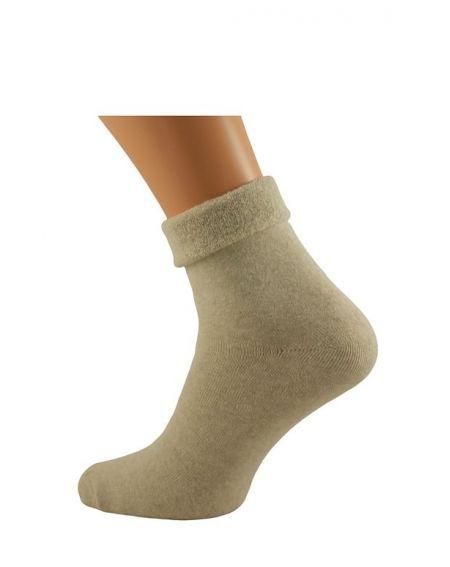 Bratex D-004 Women Frotta Chaussettes lisses 36-41 pour femmes