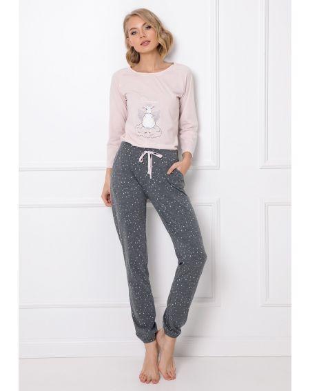 Aruelle Debbie Pyjama long, longueur / y XS-2XL