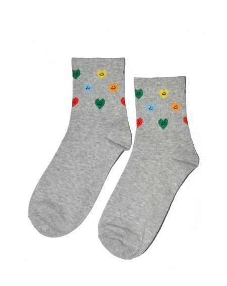 Magnetis 75 Bunte Herzen 21/22 Socken