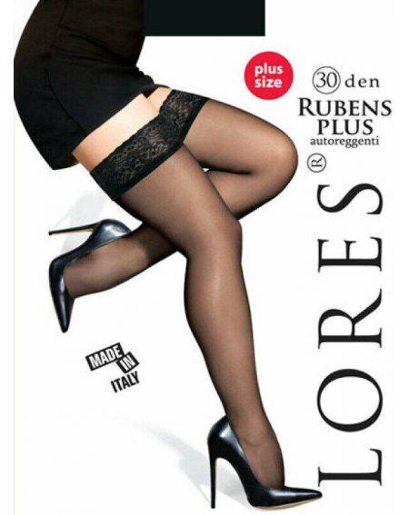 Lores RUBENS PLUS Bas 30 DEN
