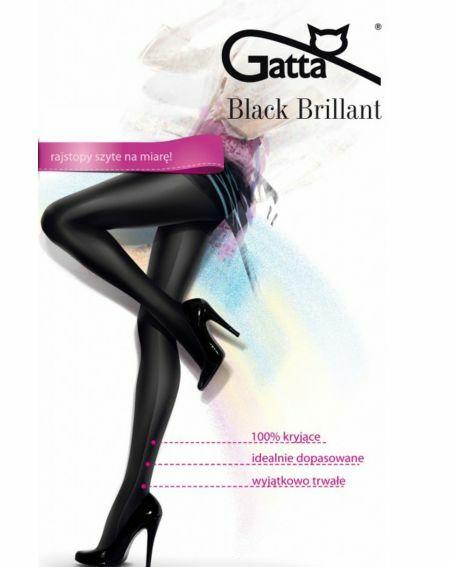 Gatta Tights Black Brillant 2-5