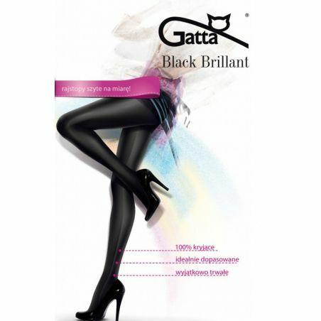 Rajstopy Gatta Black Brillant 2-5