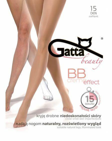 Gatta BB Creme-Effekt Strumpfhose 15 Denier 2-4