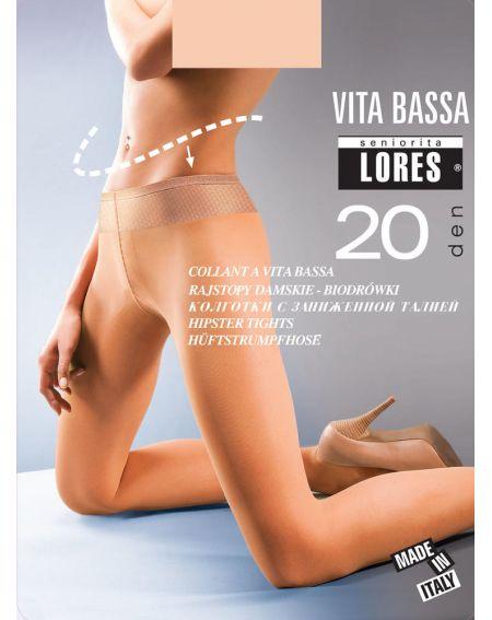 Lores RAJSTOPY VITA BASSA 20 DEN