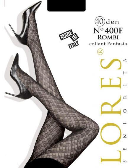 Lores STRUMPFHOSE № 400F ROMBI 40 DEN