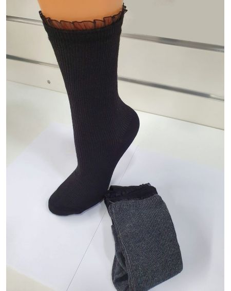 Socken Magnetis 64 Gerippt / Spitze 21/22