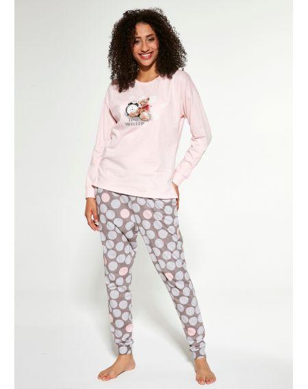 Cornette Pyjama 468/276 Time To Sleep 2 l / y S-2XL
