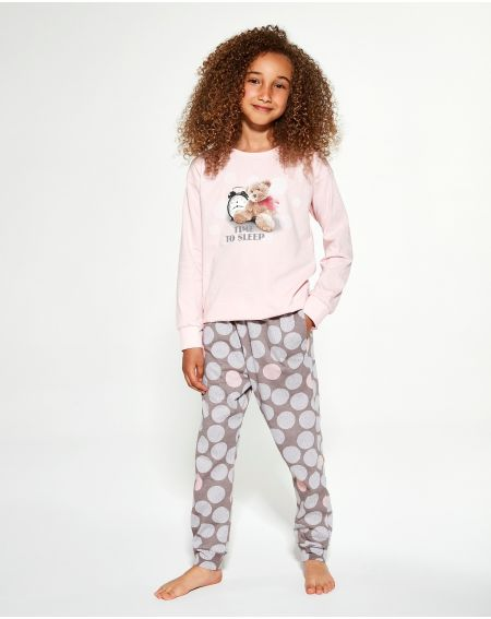 Piżama Cornette Young Girl 995/139 Time To Sleep dł/r 134-164