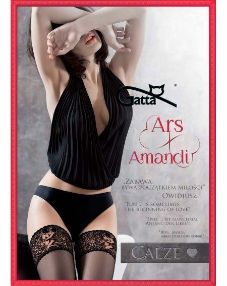 Pończochy Gatta Ars Amandi Calze 02 15 den 1-4
