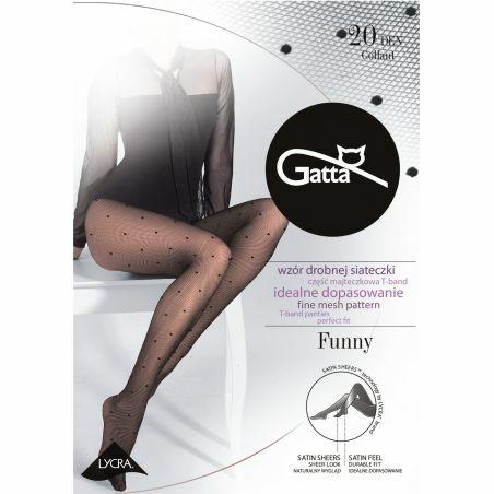 Gatta Funny tights wz.05 20 denier 2-4