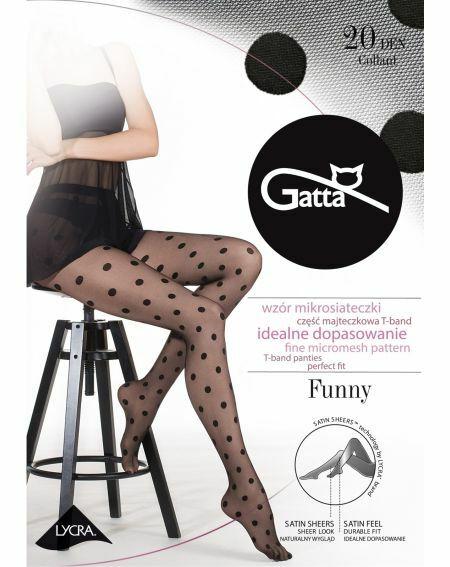 Collants Gatta Funny wz.07 20 deniers 2-4