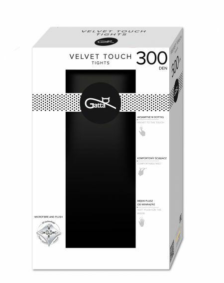 Gatta Velvet Touch tights 300 denier 2-5