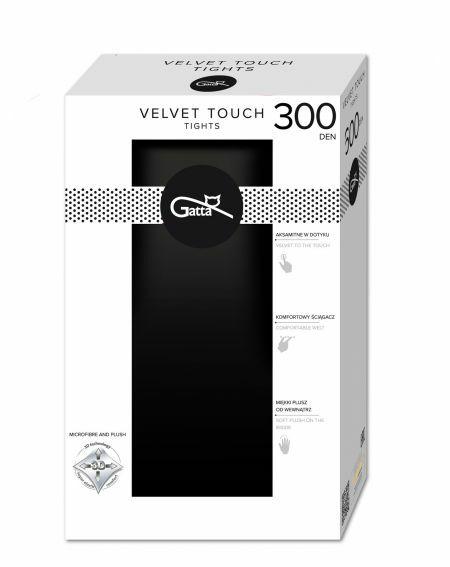 Rajstopy Gatta Velvet Touch 300 den 2-5