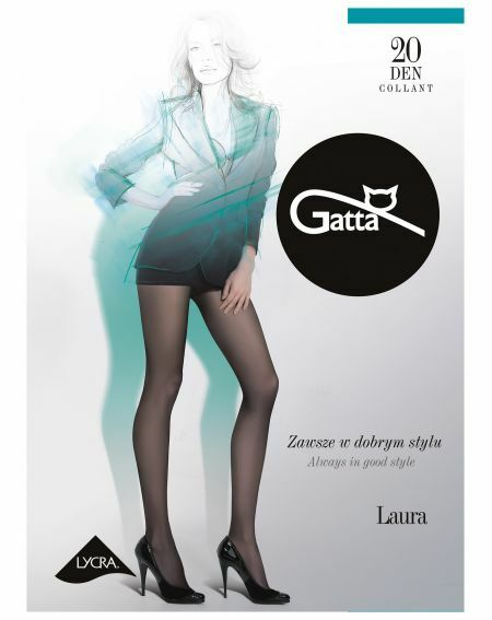 Collant Gatta Laura 20 deniers 5-XL, 3-Max