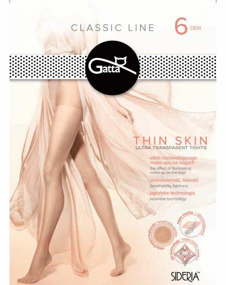 Rajstopy Gatta Thin Skin 6 den 2-4