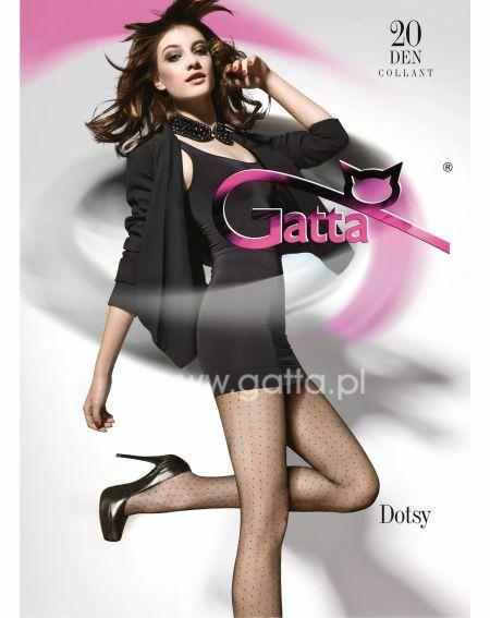 Gatta Dotsy tights wz.01 20 denier 2-4