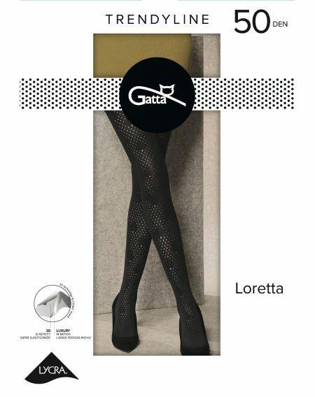 Gatta Loretta Strumpfhose Modell 122 50 Denier 2-4