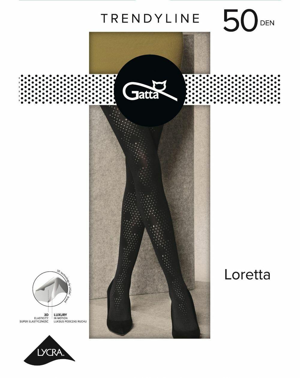 Rajstopy Gatta Loretta wz.122 50 den 2-4