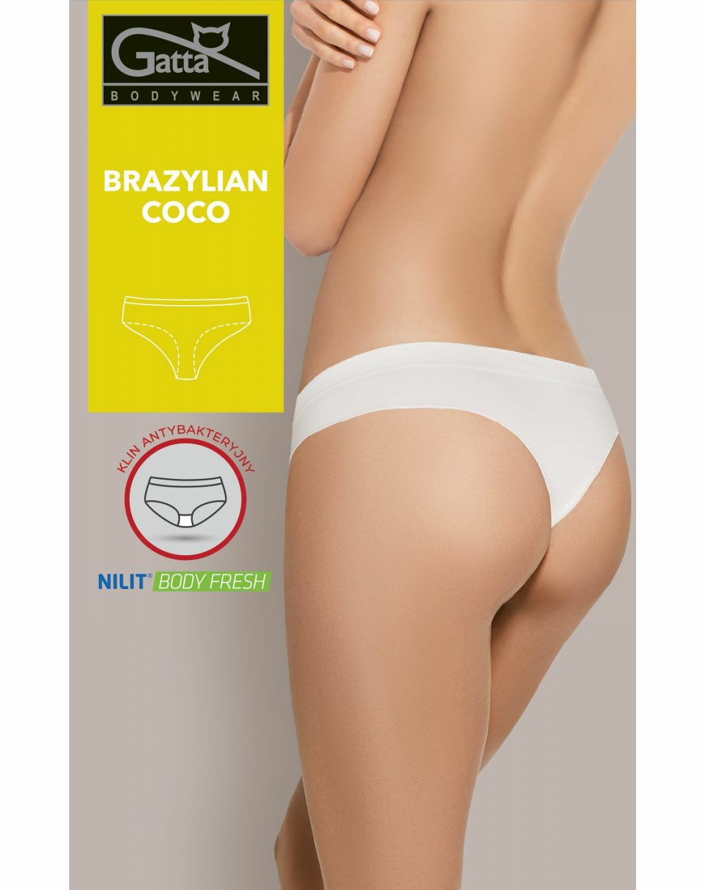 Figi Gatta 41606S Brazylian Coco