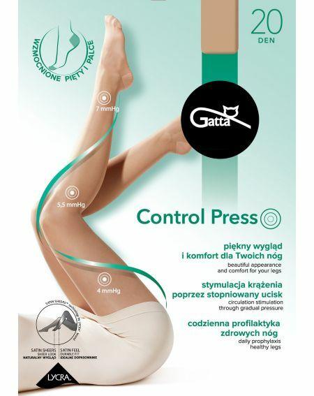Collant Gatta Control Press 20 deniers 2-5