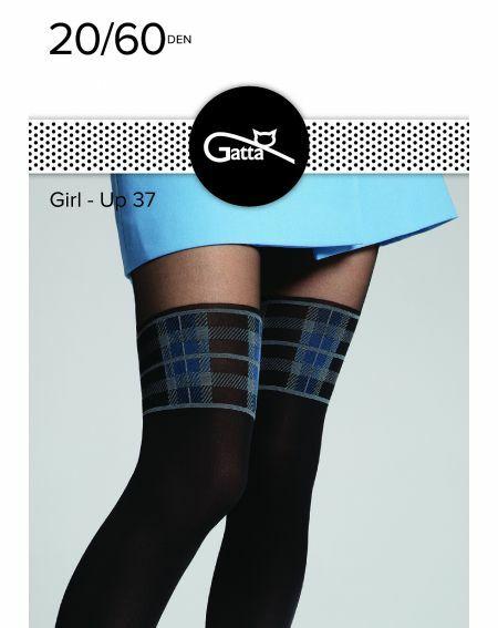 Gatta Girl-Up Strumpfhose wz.37 20/60 den 2-4