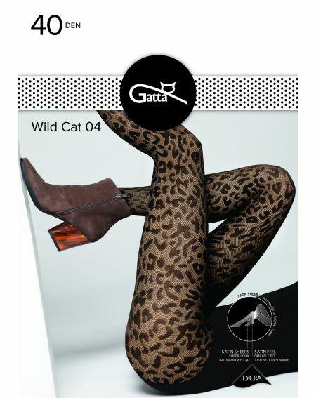 Rajstopy Gatta Wild Cat wz.04 40 den 2-4