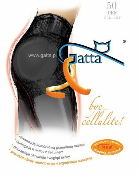 Gatta Bye Cellulite Tights 50 denier 5-XL