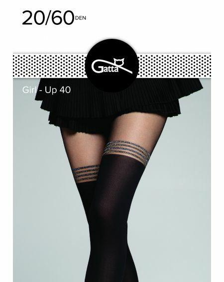 Gatta Girl-Up Tights wz.40 20/60 den 2-4