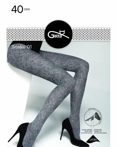 Collants Gatta Snake wz.01 40 deniers 2-4