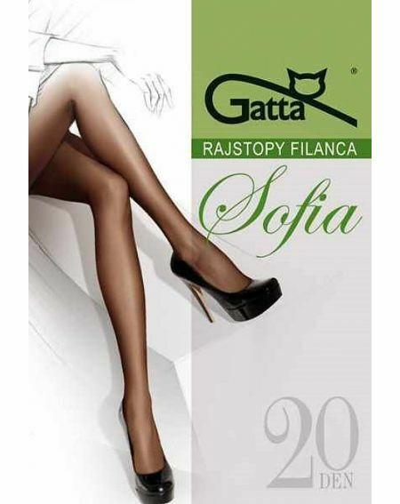 Gatta Sofia Elastische Strumpfhose 20 den 2-S