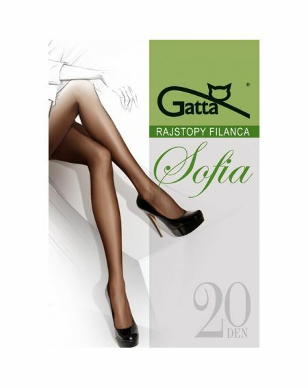 Gatta Sofia Strumpfhose 20 den 5-XL, 3-Max