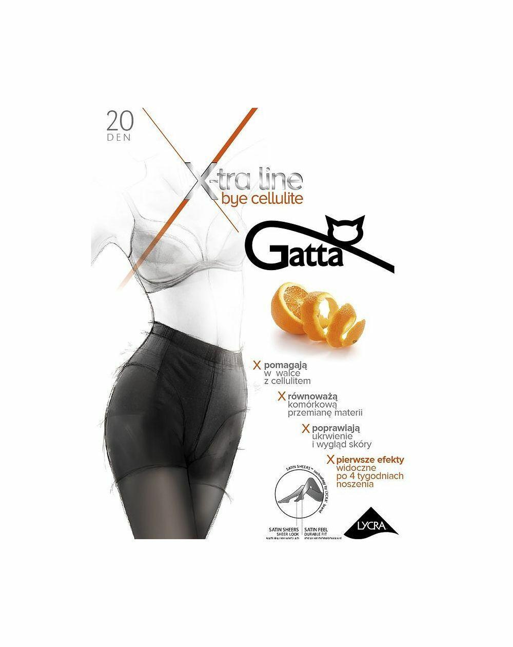 Rajstopy Gatta Bye Cellulite 20 den 5-XL
