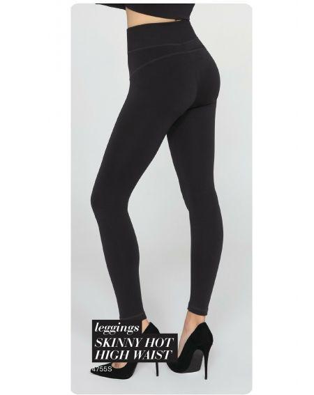Gatta 44755S Legging skinny chaud taille haute 3XL