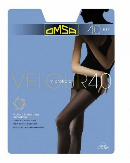 Collants Velours Omsa 40 deniers 5-XL