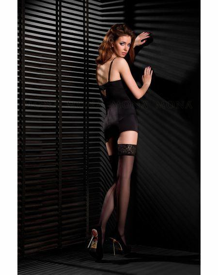 Stockings Mona Delice Red 20 den