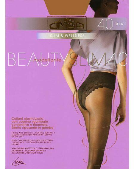 Rajstopy Omsa Beauty Slim 40 den 2-4