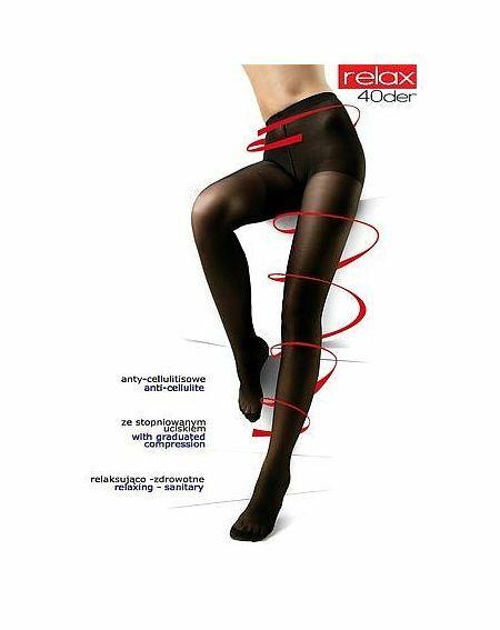 Rajstopy Mona Relax 40 den 5-XL